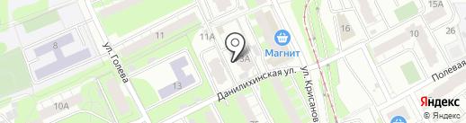 Ажур-аудит на карте Перми