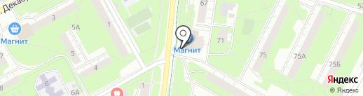 Детский магазин на карте Перми
