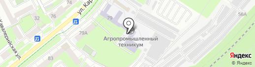Автомир на карте Перми