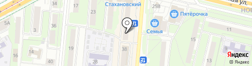 Магазин домашнего текстиля на карте Перми