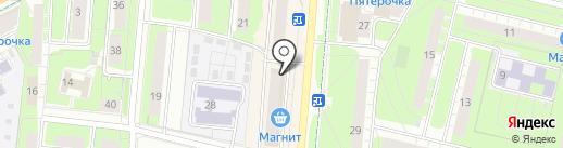 Магазин мужской одежды на карте Перми