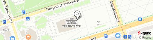 Пермский академический Театр-Театр на карте Перми
