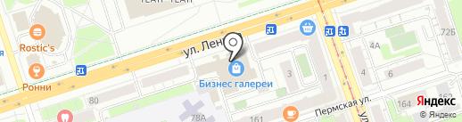 Bamboo на карте Перми