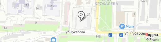 Прохлада на карте Перми