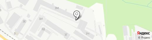 Транспортная компания на карте Перми