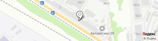 Фатум на карте Перми