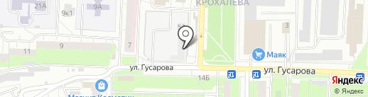 Созвездие на карте Перми