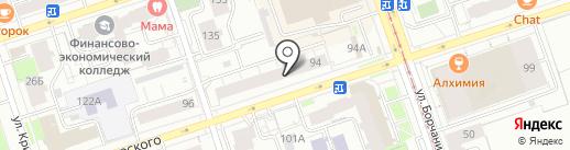 Свежий Розлив на карте Перми