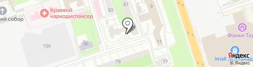Краевой многопрофильный образовательный центр, АНО ДПО на карте Перми