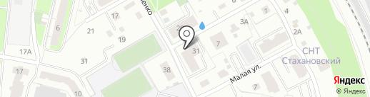Компания по производству современных дверей на карте Перми