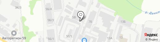 ЦентрСпецЗапчасть на карте Перми
