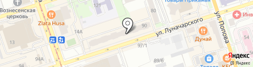Юнистрой на карте Перми