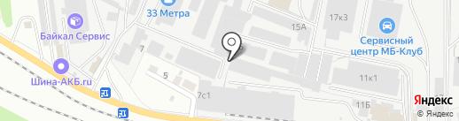 Альянс Тара на карте Перми