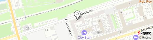 ЛАМА-Строй на карте Перми