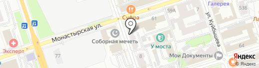 Aksenteva lingerie на карте Перми