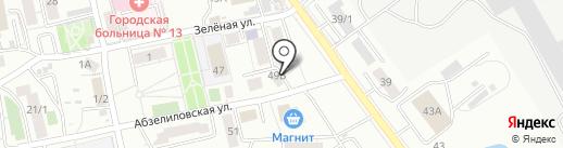 Я и Ты на карте Уфы