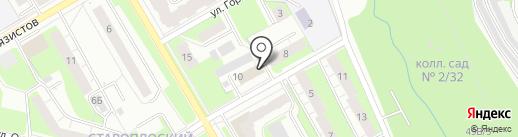 Академия вождения на карте Перми