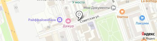 ПрофСервис на карте Перми