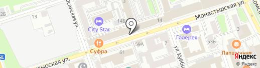 Грузчиков-Сервис на карте Перми