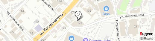 Гача на карте Перми
