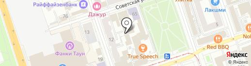 ШЕФ на карте Перми