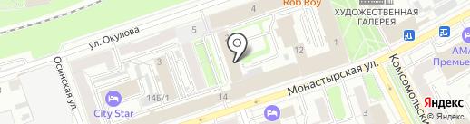 Пермская Академия Йоги на карте Перми