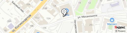 Оптовая компания на карте Перми