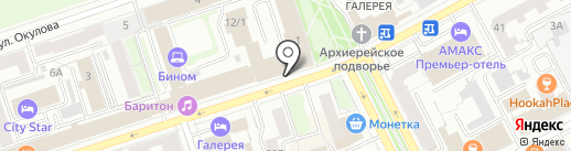 Центральная автошкола Перми на карте Перми