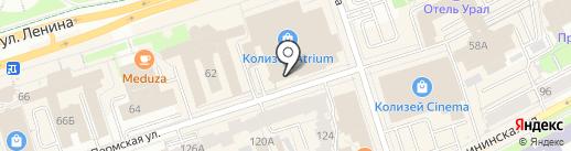 Аргос на карте Перми