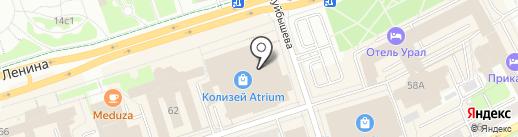 Perm Running Club на карте Перми