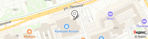 Decert mod на карте Перми