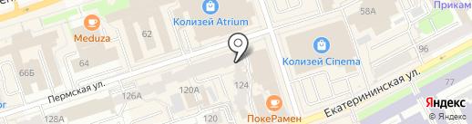 БЕТОН-КРАФТ на карте Перми