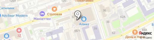 Высший арбитражный третейский суд на карте Перми