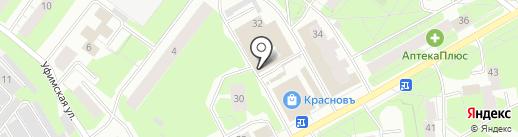 Модные сумки на карте Перми