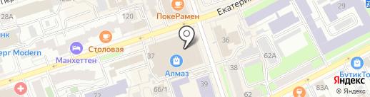 Братья Цыплята на карте Перми