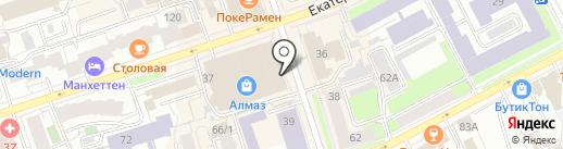 Мастерская по ремонту обуви и изготовлению ключей на карте Перми