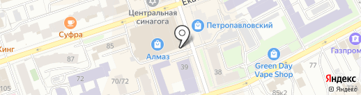 Onza на карте Перми