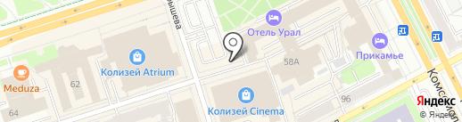 Дубай на карте Перми