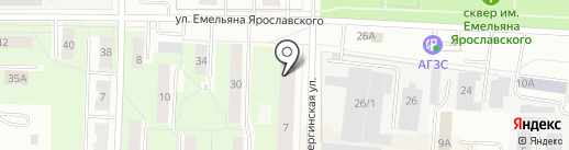 Аквамарин на карте Перми