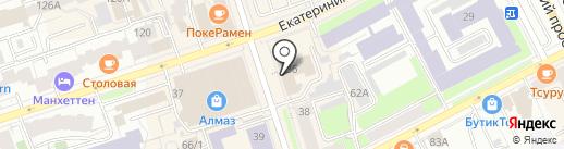Эль темпо на карте Перми