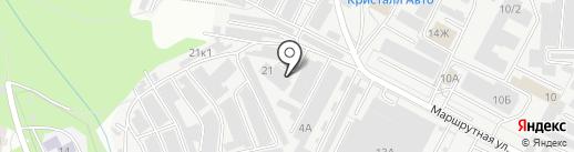 ТехСтандарт на карте Перми