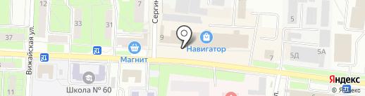 Сеть магазинов игрушек на карте Перми
