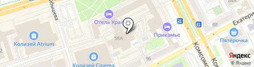 Астек-Строй на карте Перми
