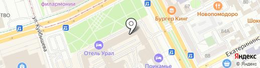 Классик на карте Перми