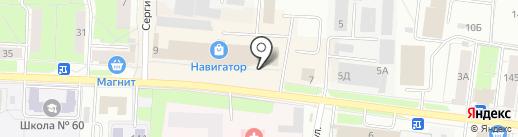 OLIMP на карте Перми