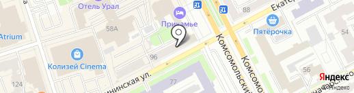 ПЕРСПЕКТИВА-СДЕЛКИ С ГАРАНТИЕЙ на карте Перми