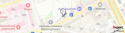 U-CarteRRa на карте Перми