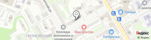 Агентство недвижимости на карте Перми
