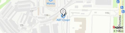 ТРЕК на карте Перми