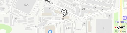 Газмонтаж на карте Перми